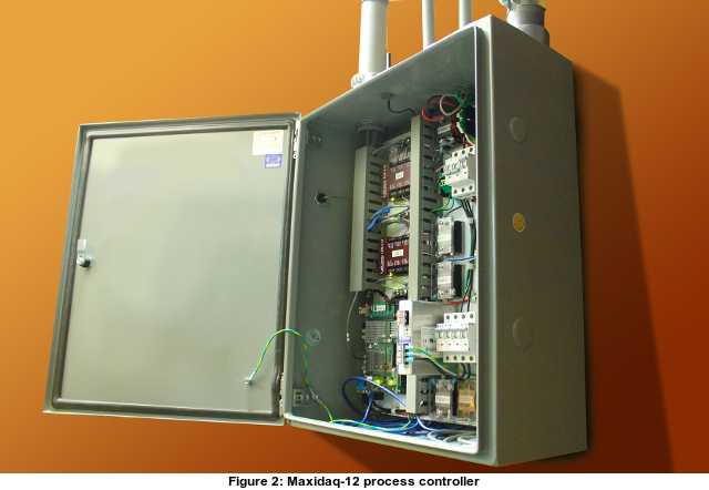 the maxidaq-12 process controller